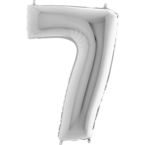 sølv tal 102 cm
