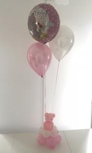 Baby Girl Bear Foil 225,-