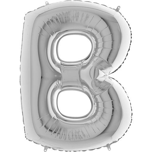 sølv bogstav A 102 cm