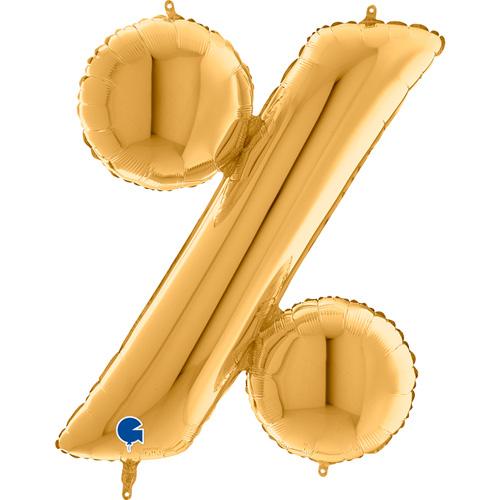 guld bogstav % 102 cm