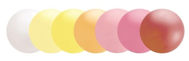 nogle farver på gigantballoner