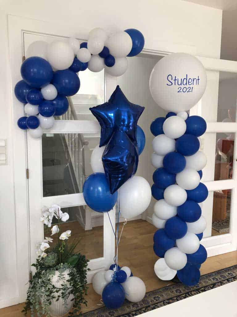 blå student 2021