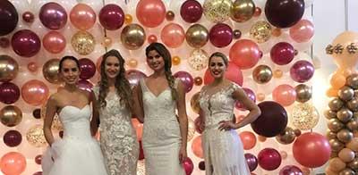 ballon væg til bryllup