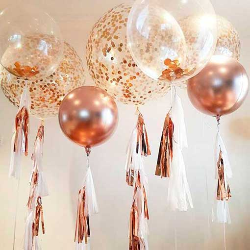 balloner med helium ogtassles
